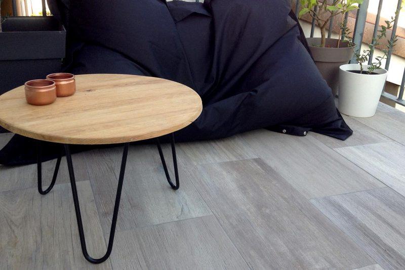 DIY Table basse extérieure en bois et métal