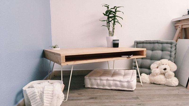 Diy Déco : Fabriquer Une Table Basse Avec Des Hairpin Legs - Mawilo.Fr