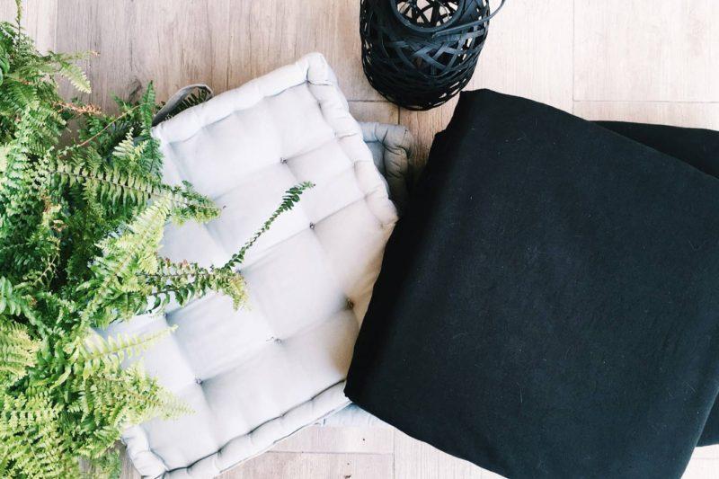 DIY Créer une housse de coussin de sol