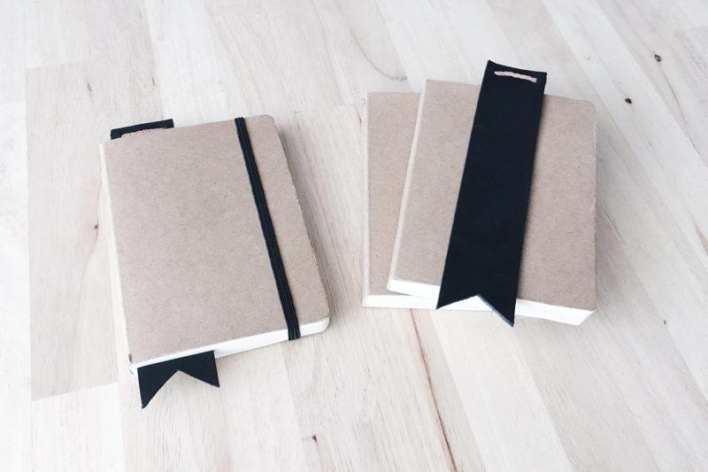 DIY Un marque-page en cuir