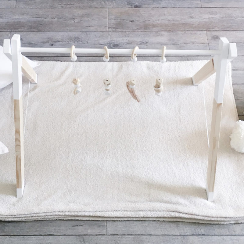 DIY Arche d'éveil en bois pour un bébé… ou des jumeaux !