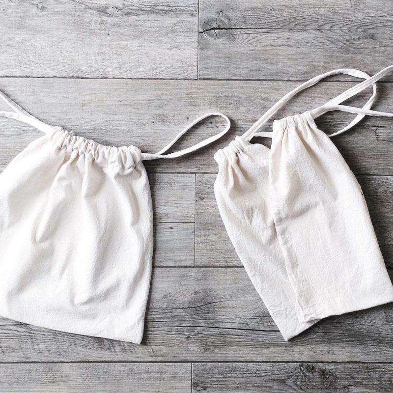 DIY Sac à vrac zéro déchet avec un tote bag